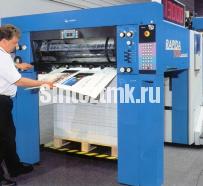 монтаж печатной машины