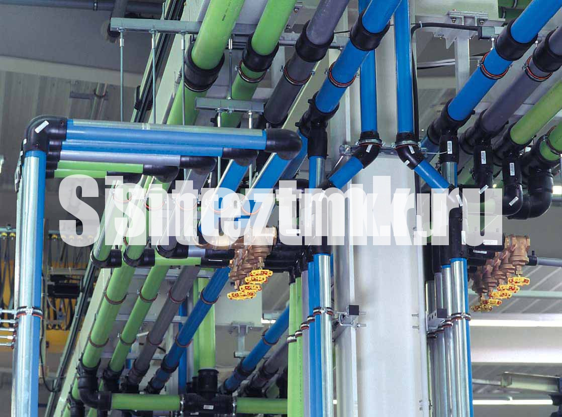 монтаж трубопроводов сжатого воздуха