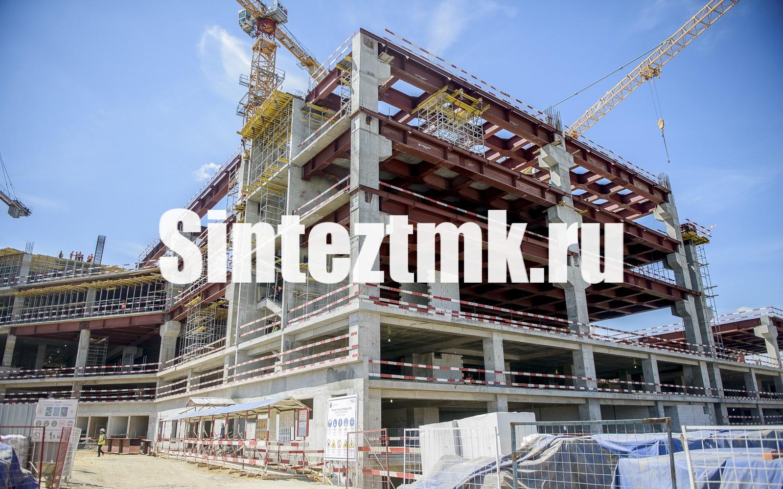 Монтаж каркасов зданий из железобетона и стальных конструкций