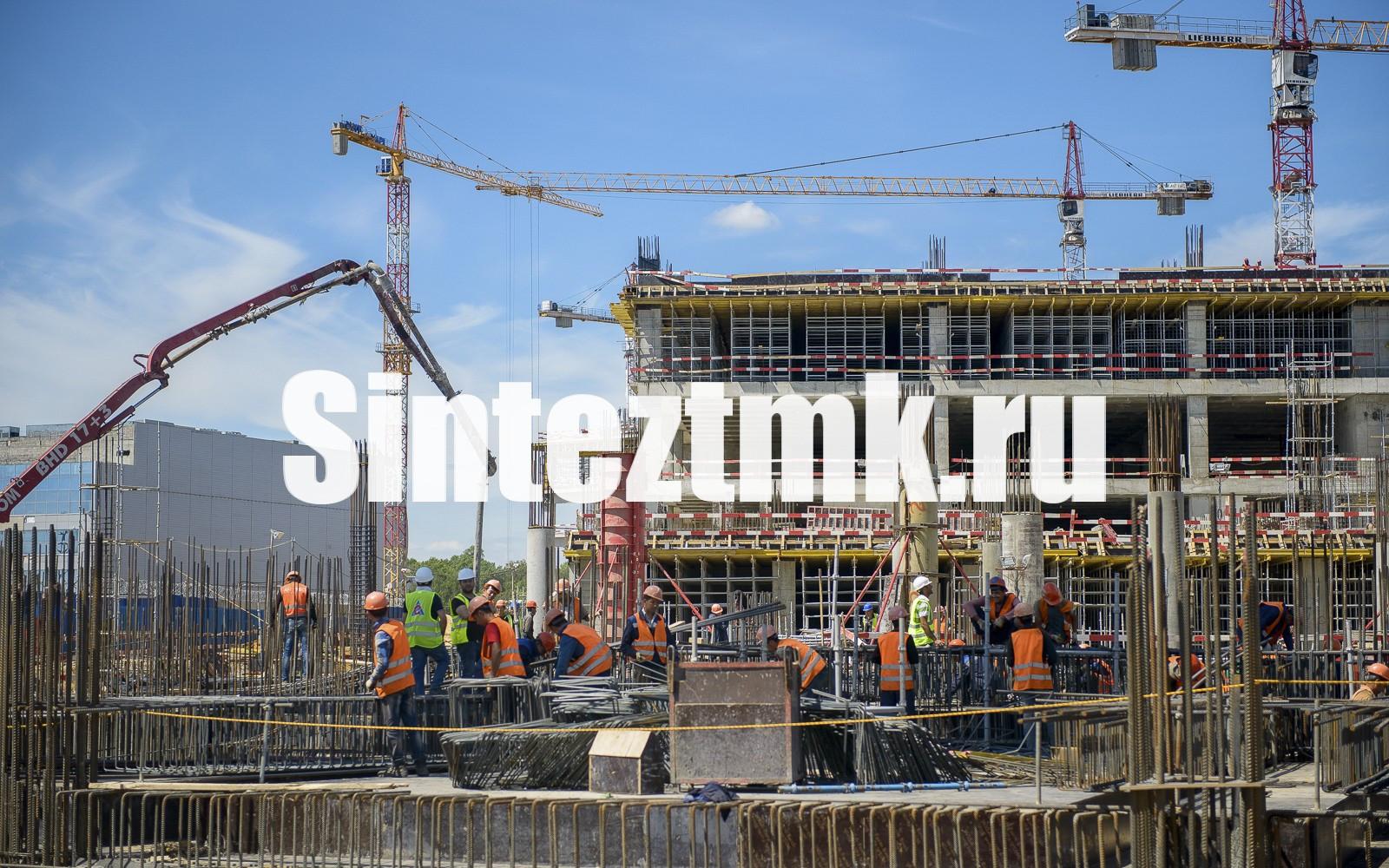 Монтаж железобетонных каркасов зданий