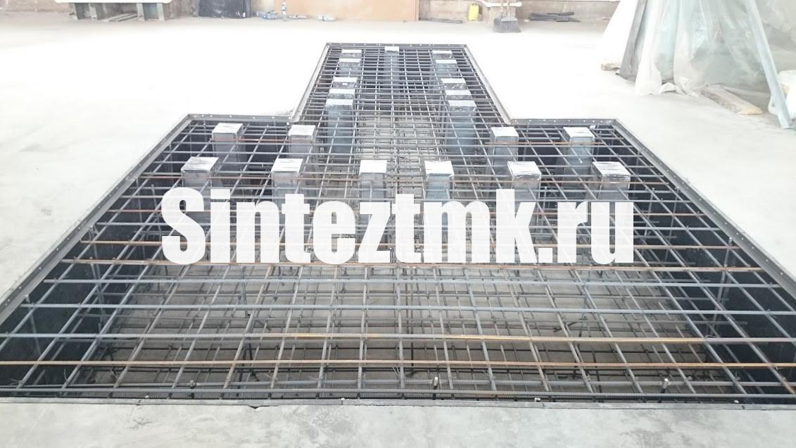 Подготовка к бетонированию фундамент фрезерного центра