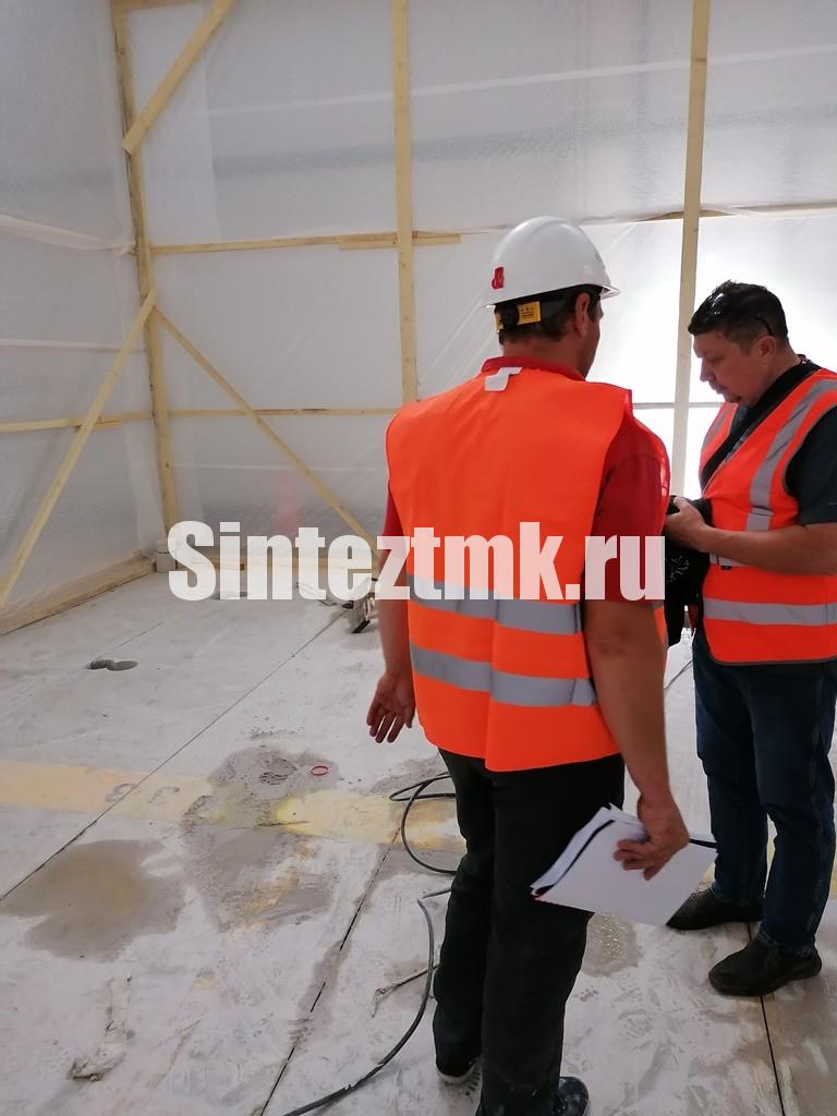 Строительный контроль в укрытии