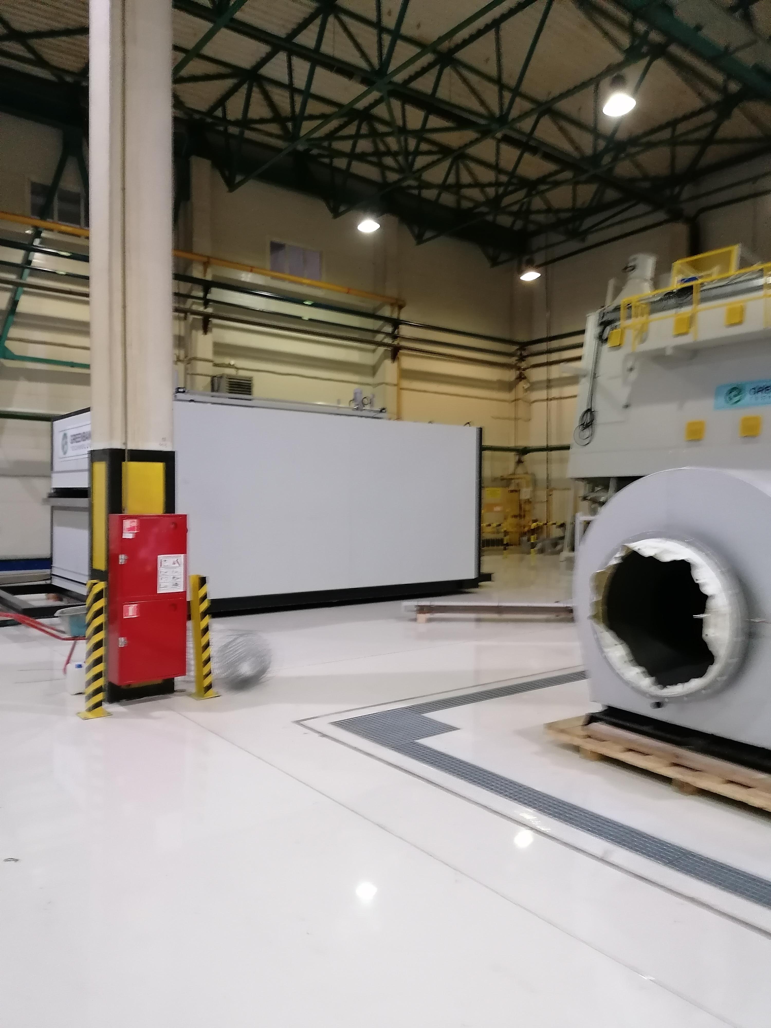 Монтаж оборудования на подготовленные полы